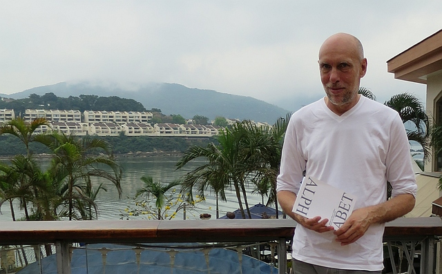 Andrew S Guthrie at Proverse Readers' Club, Dymocks DB, Lantau, NT, Hong Kong