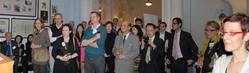 Proverse Spring Reception 2012: Book launch, Proverse Prize '11 Winners' results
